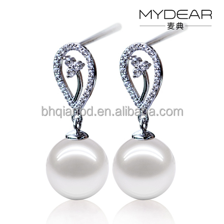 2016 necklace pearl earrings for women, AAAA freshwater pearls for sale