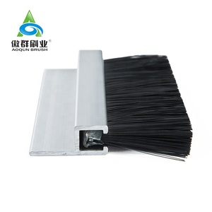 Door Frame Nylon Brush Filament Self-adhesive Sealing Brush Strip