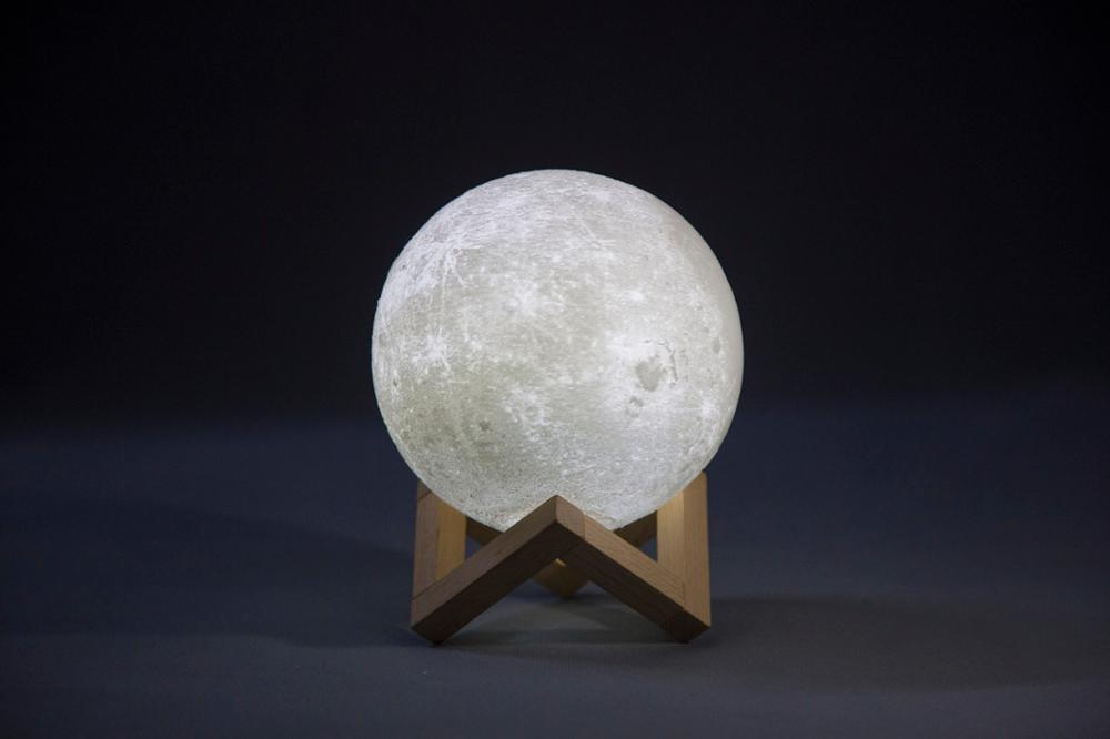 Vente Chaude 8 20 Cm Led Couleur Changeante Lampe De Lune 3d Lampe