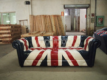 Union Jack Chesterfield Sofa Supplieranufacturers At Alibaba