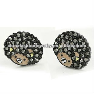 Fashion Folk Style Afro Indian Bear Earrings 2012