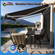 Shop front cheap sun rain resistance manual retractable awning