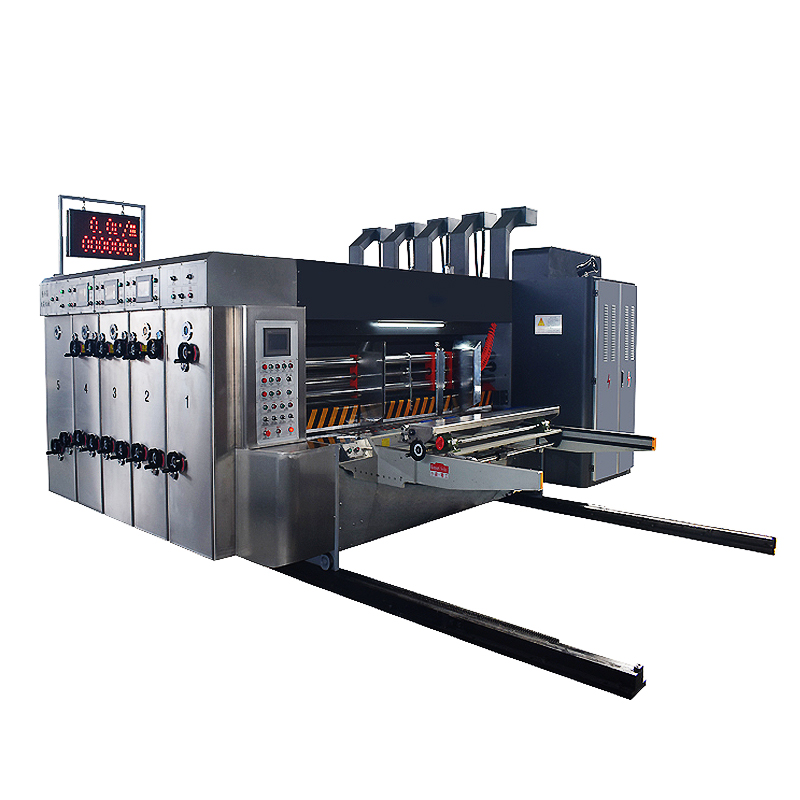 Corrugate Carton  Printing Slotter Die Cutting Machine