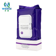 Geur Gratis Ongeparfumeerde Make up <span class=keywords><strong>Remover</strong></span> Cleansing Doeken Wipes