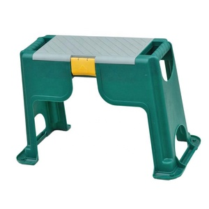 2019 most popular garden folding outdoor plastic kneeler stool for wholesale