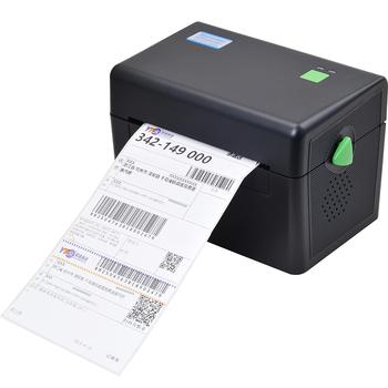 Xp dt108b 108mm max width direct thermal barcode qr code sticker printer barcode printer express