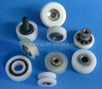Oem Any Design Pom Plastic Pulley Ball Bearings,Window Plastic ...