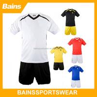 Cheap blank club football jersey,Plain jersey football,Simply style football jersey set