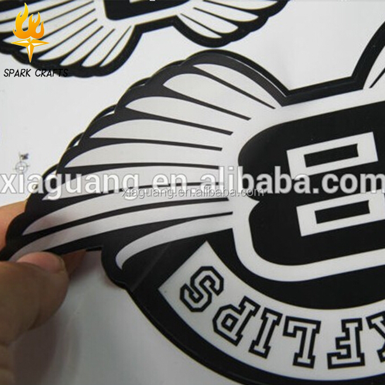 Customized transparent window sticker custom decals label printed  waterproof decals