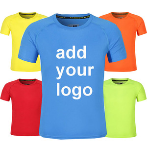 Custom Logo Unisex Sport Marathon Running Quick Dry Fit t Shirt