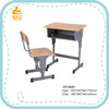 China wooden adjustable school desk manufacturers