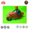 ICTI certificated custom made small plastic toy motorcycles figures