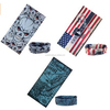 Top Quality wholesale Seamless Multifunctional custom logo band Bandana / tie dye bandana