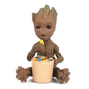 Make your own marvel dancing baby groot figurine
