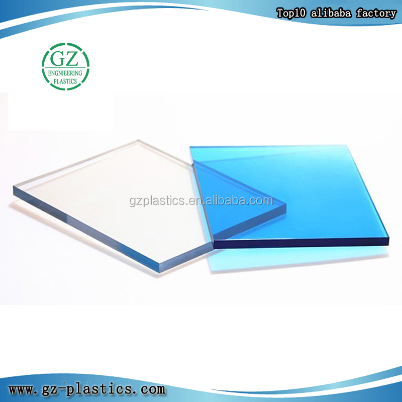 Uv resistant plastic sheet with bulletproof polycarbonate sheet