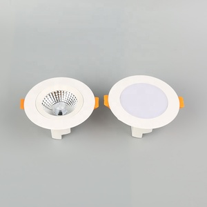 5w 7w 10w 15w High Pressure round aluminum 8inch cutout living Room Dimmable led recessed downlight