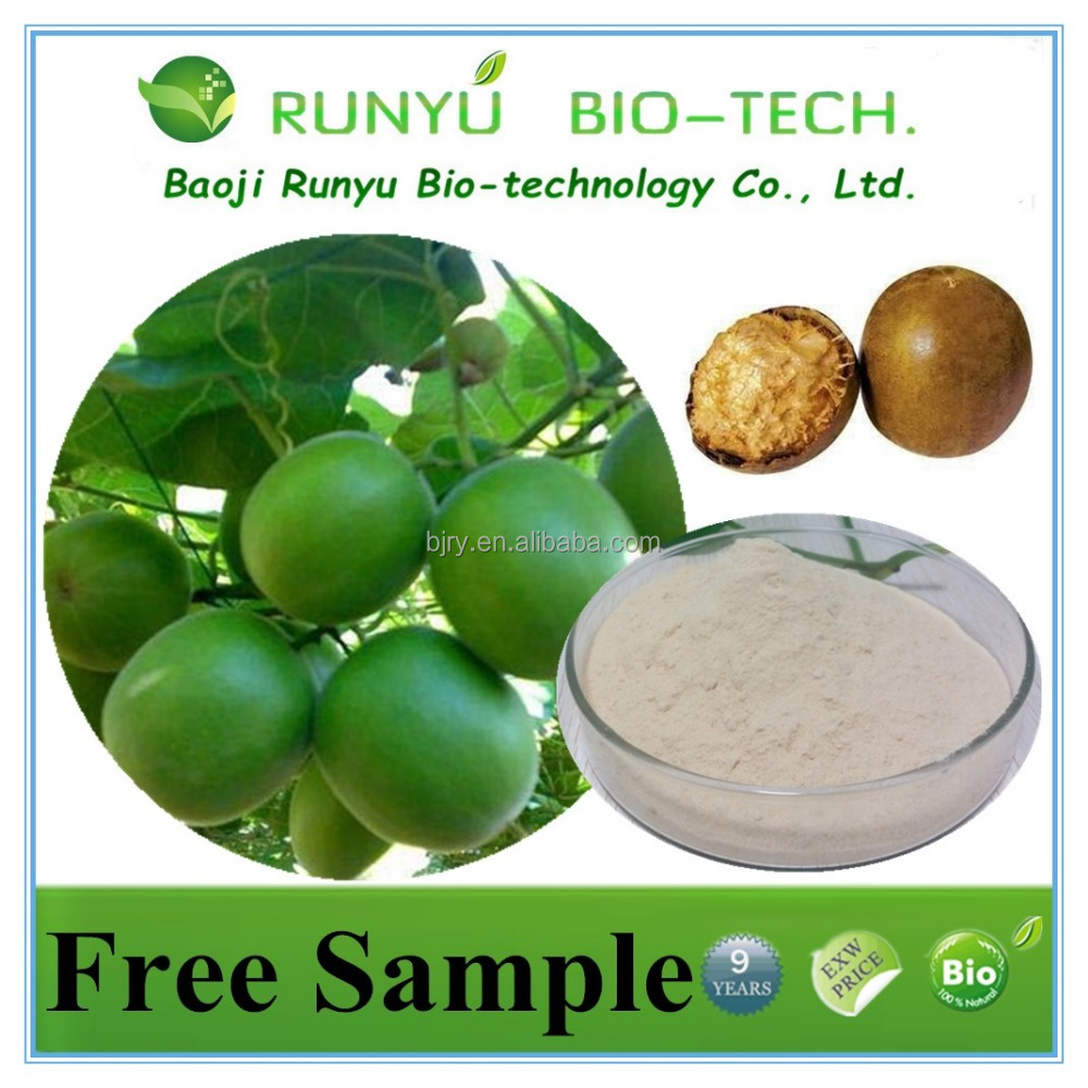Pure natural Luo Han Guo extract organci Lo Han Guo extract powder in stock