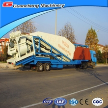 Small 25m3/h YHZS25 concrete batching plant layout plan machine prices in Shandong