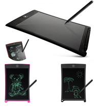 Post It Notes Sticky LCD Writing Tablets 8.5 Inch Writting Board Graphic Designing For Kids Learning