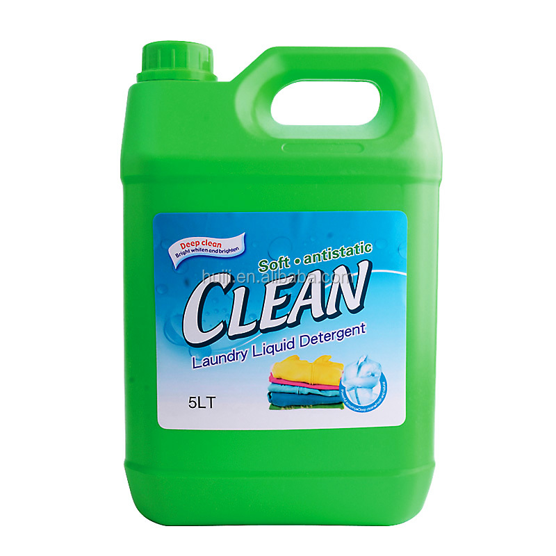 5L Soft&Anti-static Ultra clean industrial laundry detergent