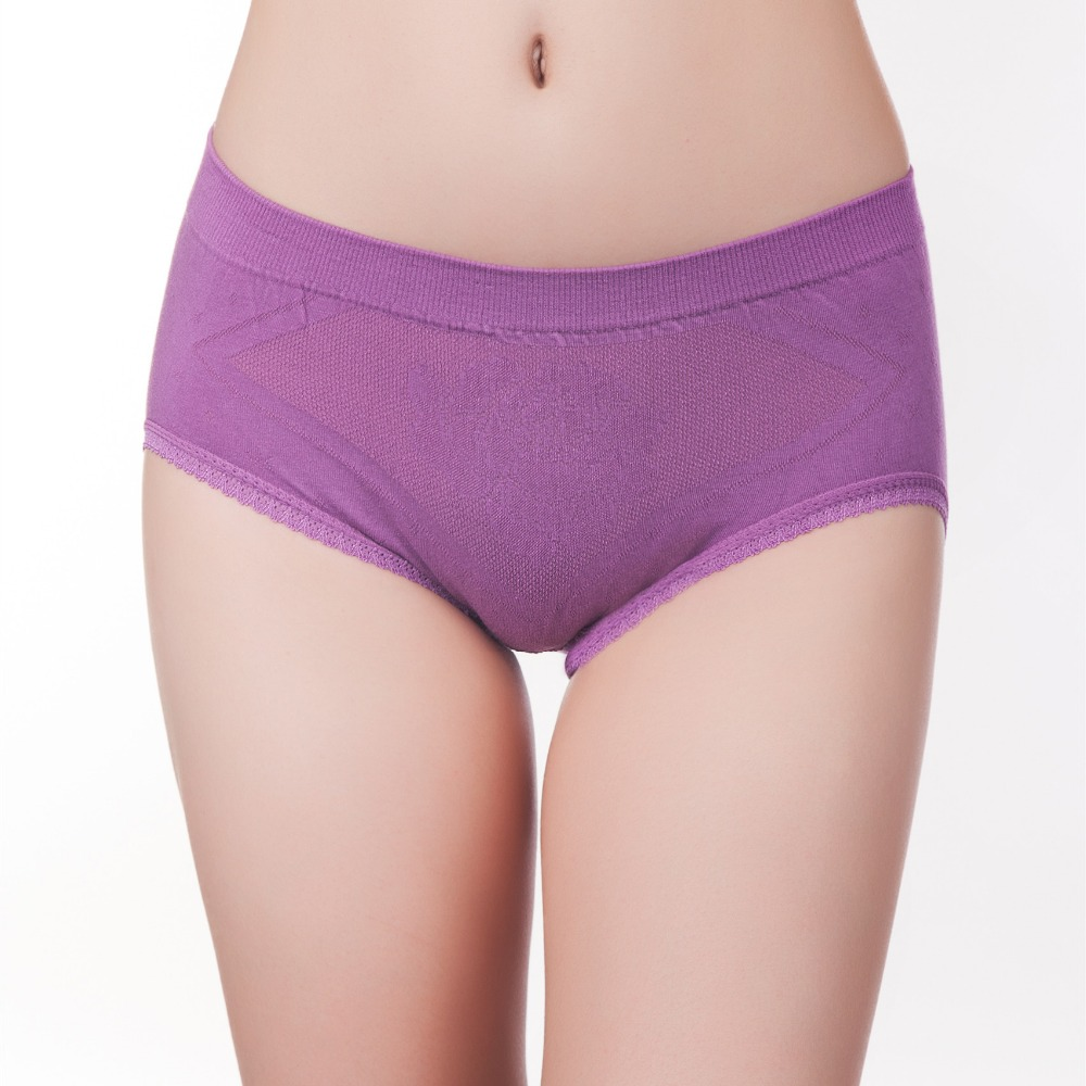 Free Sample OEM Panties Underwear Women Comfortable and Breathable Seamless Dri Fit Underwear Cotton Panties With Best Price