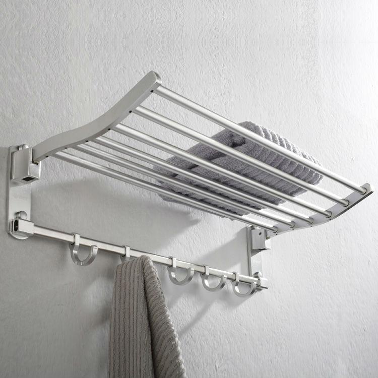 Towel Shelf With Hooks | Jonathan Steele
