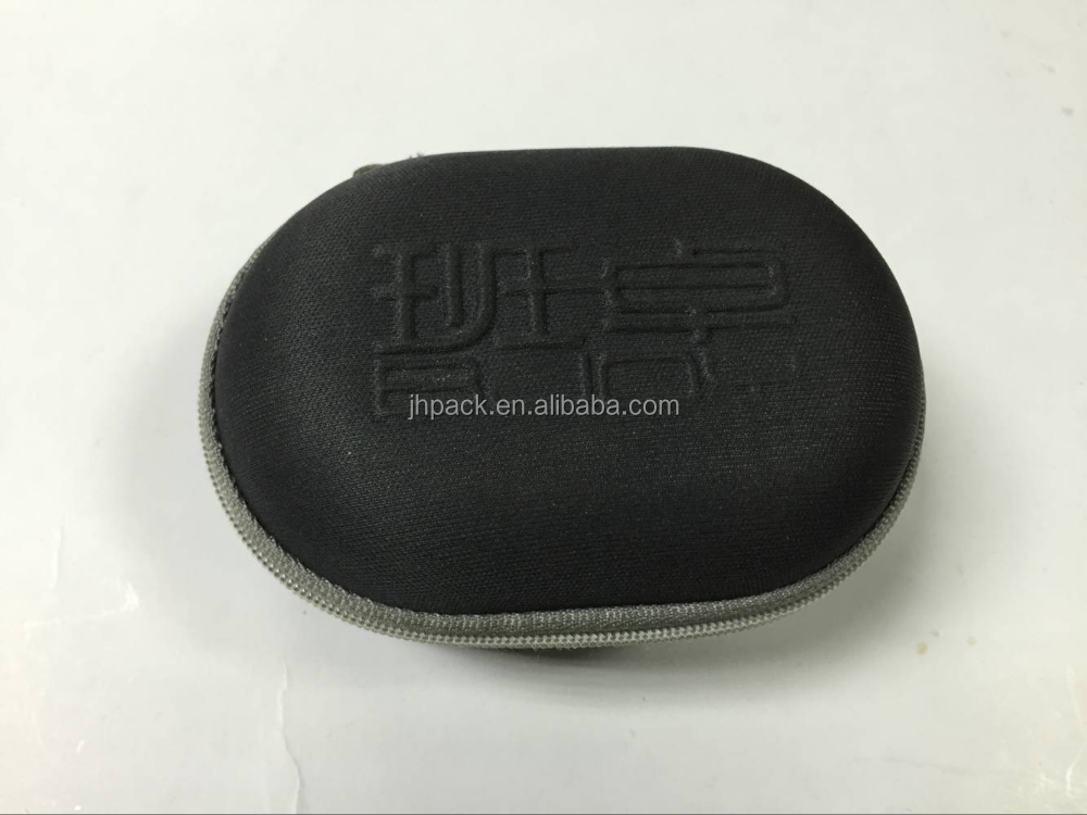 High quality eva earphone case durable hard carrying headphone case