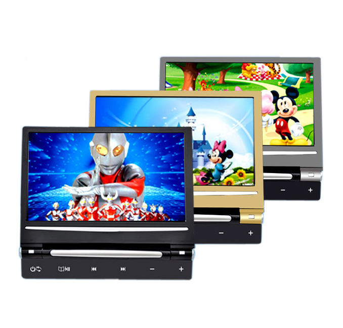 9 inch CD USB SD DVD player <strong>CAR</strong> headrest monitor with game boxes