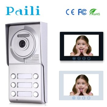 2 Wire 6 Units Apartment Video Door Phone Intercom Door Entry System