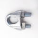 "1/4"" US Type Malleable Galvanized Stainless Steel Wire Rope Clips"