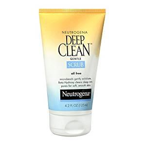 Neutrogena Deep Clean Gentle Scrub, Oil Free 4.2 fl oz (125 ml)