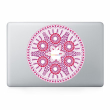 wholesale price waterproof custom sticker sheet reusable removable adhesive desktop computer skins for apple macbook