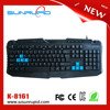 Cheapest Computer Keyboard Multimedia Keyboard USB Wired Keyboard