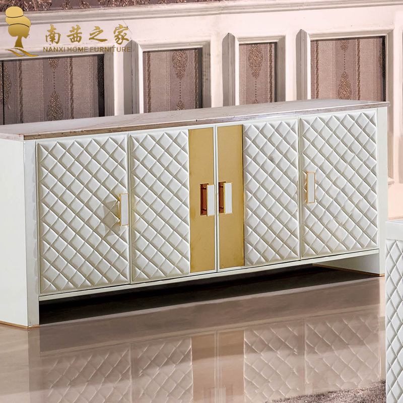 Living Dining Room Cabinets: Italian Design Home Furniture Living Room Cabinet Marble