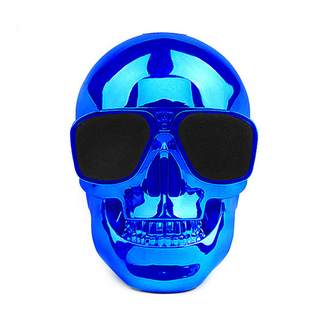 2017 new personality skulls BT speakers overweight bass speakers Halloween gifts