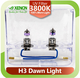 XENCN h3 12V 55W /85W/ 100W Pk22s X-treme Vision Car Foglights UV Glass Halogen Auto Light Replace Upgrade Bulbs