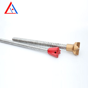 Trade assuranced hollow mining self drilling 25mm rock anchor bolt grouting