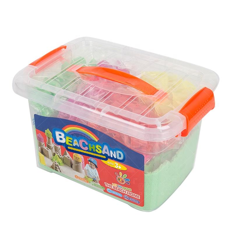 Рекламные товары DIY игрушки Образование лунный песок, экологически чистые волшебные игрушки для детей