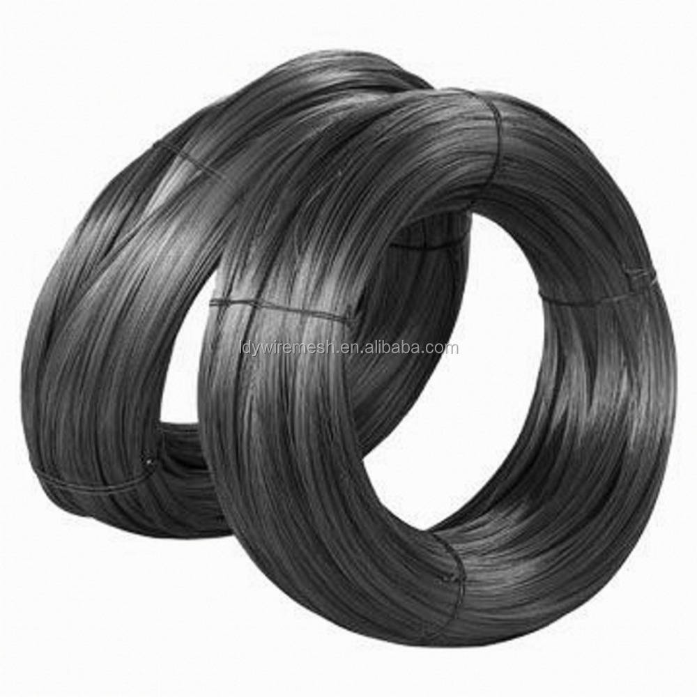 Direct Factory Low Price Soft Black Annealed Iron Construction Binding Wire With 1.1mm 1.8mm 2.0mm 3.0mm