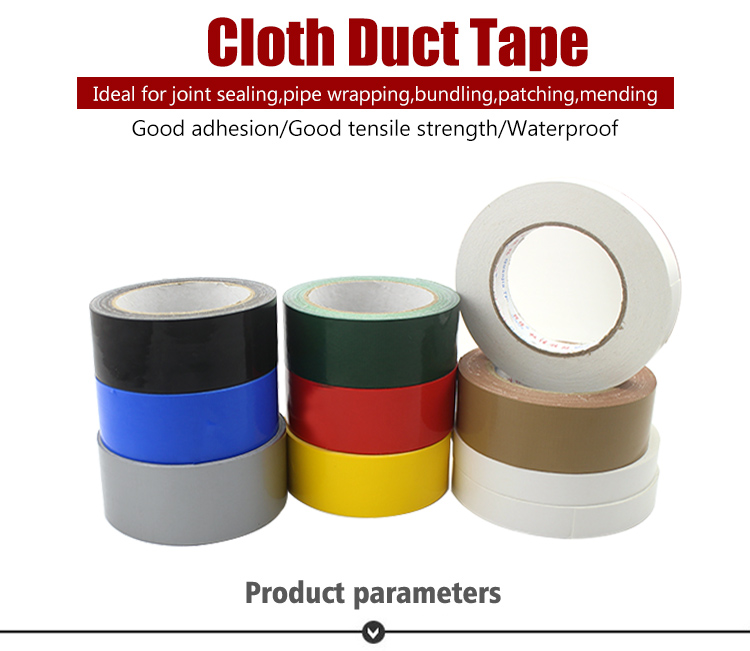 Black book binding repair cloth stick adhesive duct tape