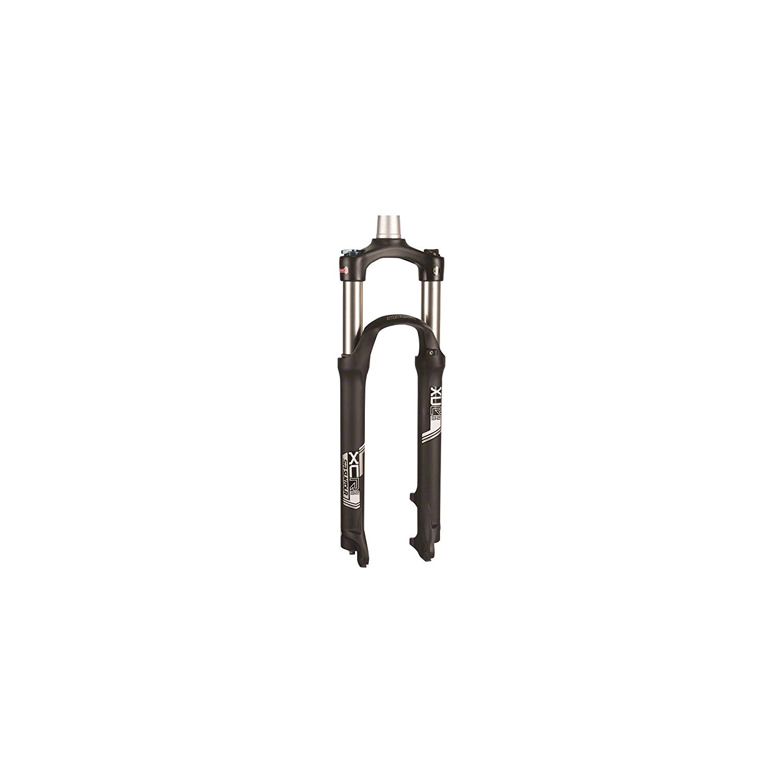 "SR Suntour XCM 26/"" Bike Fork 1-1//8/"" Threaded 210mm QR 100mm Canti//Disc Black"