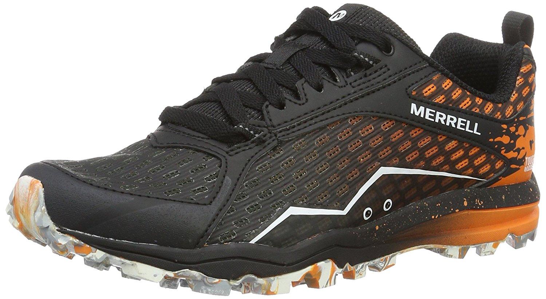 Merrell All Out Crush Tough Mudder Womens Trail Running Shoes UK 6.5 Orange