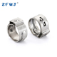 Cheap price 10.5-11.8mm stainless steel single ear hose tube clamp