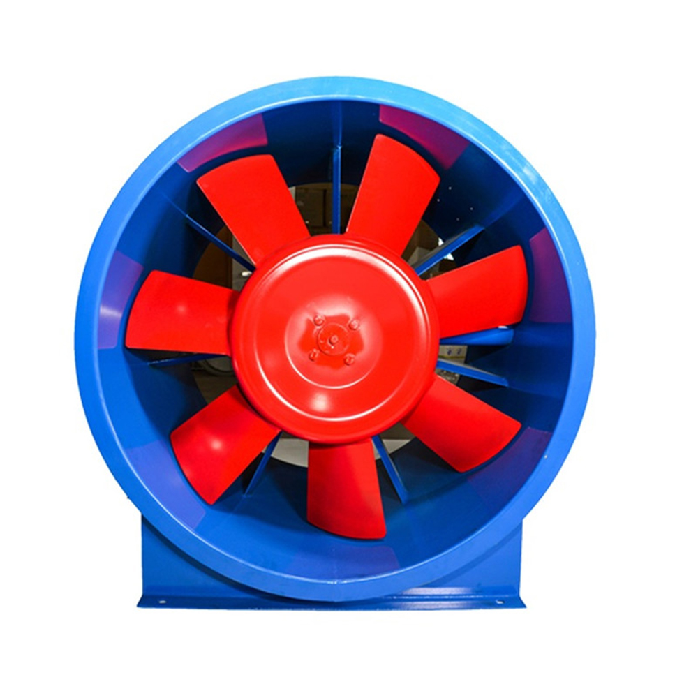 Portable ventilation fan axial fan with motor for industrial