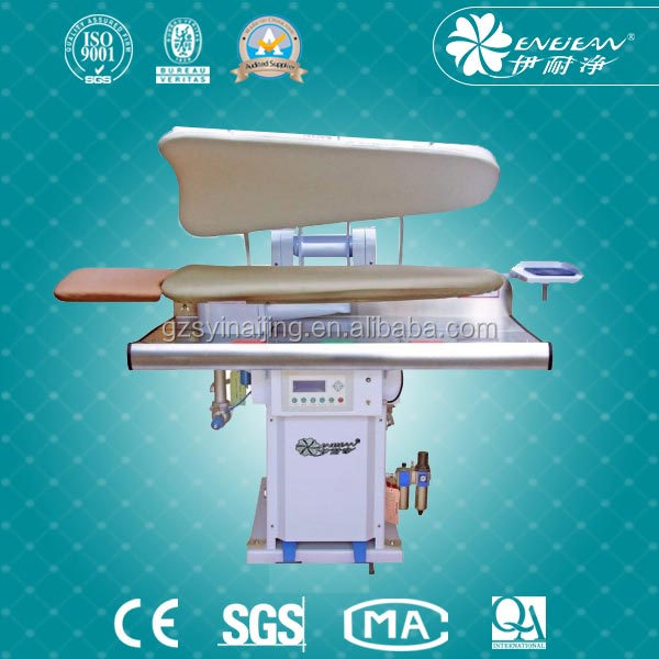 press machine for clothing/laundry Ironing table
