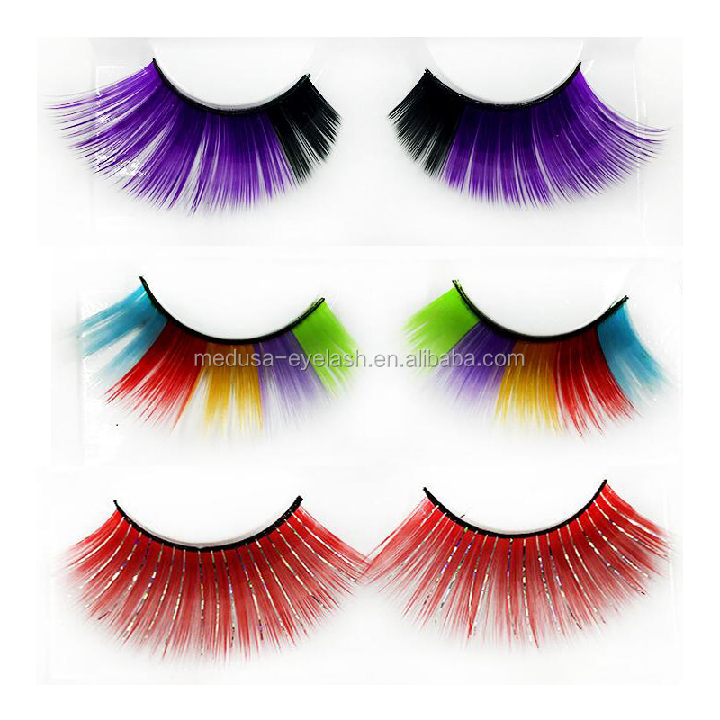 db39da16d12 Wholesale Color Eyelash Premium Colorful Silk Lashes .