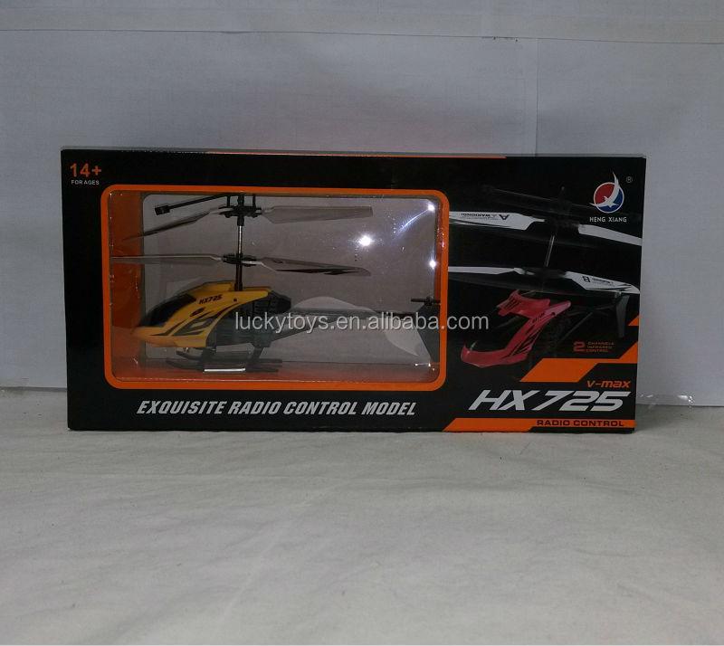 Cheaper 2ch R/c Helicopter Hx725