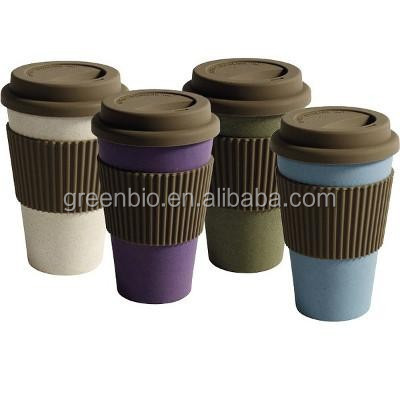 Eco friendly products bamboo fiber thermo cup