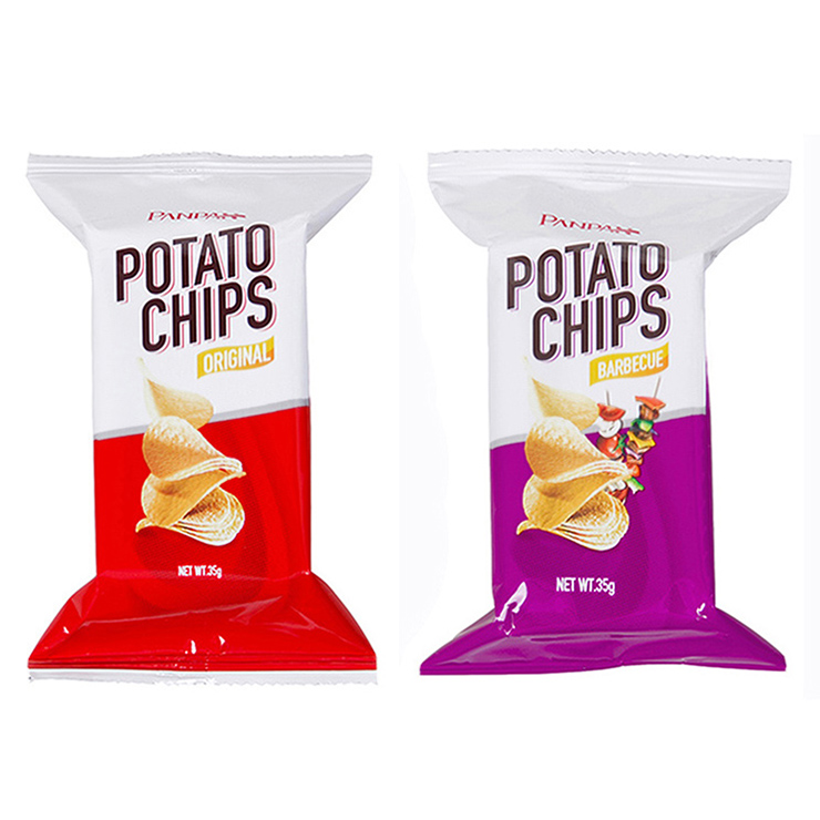 Panpan chips de batata natural Japonês vally lanche