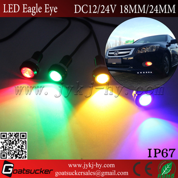 12/24 Volt Daytime Running Light Eagle Eye Led Waterproof Eagle ...